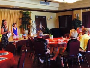 Hydration workshop at Solera in Chandler. Hope to do more of these! Great presentation Dana