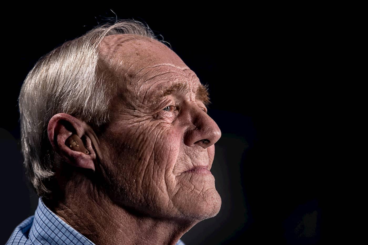 Older man who experienced trauma