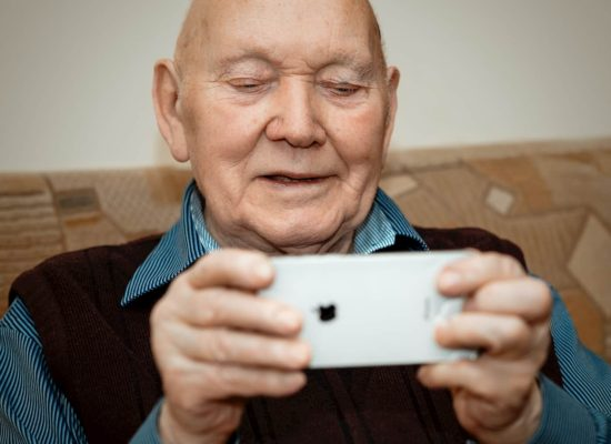 older parents using technology